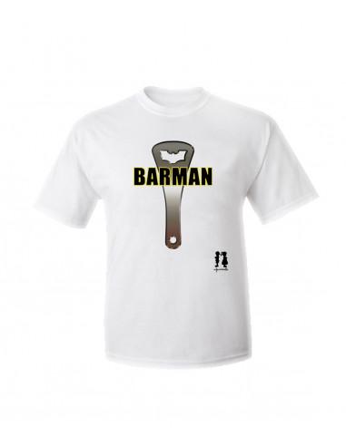 T-shirt humour pour adulte BARMAN