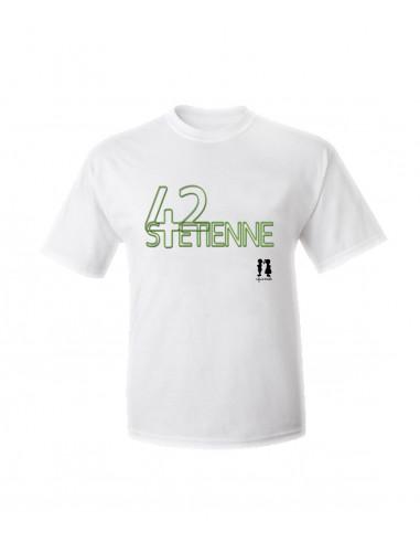 T-shirt humour pour adulte 42 st Etienne