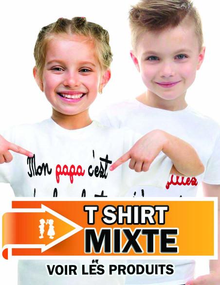 T shirt mixte